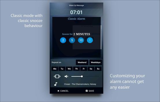 Alarm clock Doozy for the lazy screenshot 3
