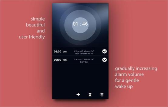 Alarm clock Doozy for the lazy screenshot 5