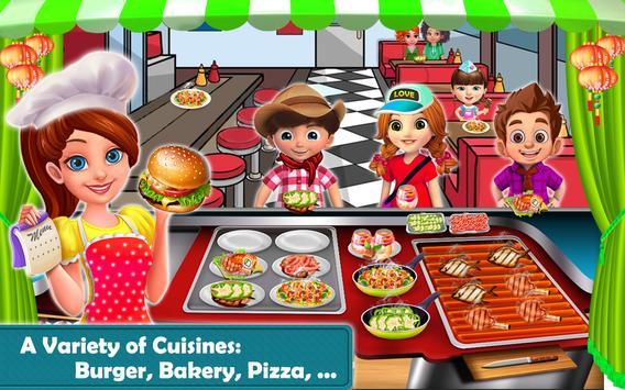 Burger Food Street apk screenshot