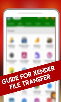 Guide Xender File Transfer and Sharing poster