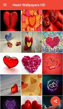 Heart Wallpapers HD apk screenshot