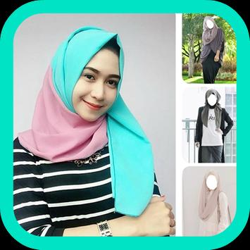 Hijab Beauty Photo Montage poster