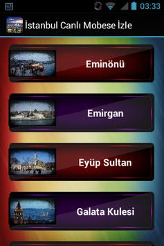 İstanbul Canlı Mobese İzle apk screenshot