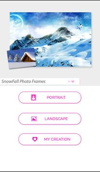 SnowFall Photo Frames poster