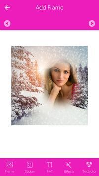 SnowFall Photo Frames screenshot 1