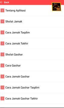 Sholat Jamak Qashar Lengkap apk screenshot