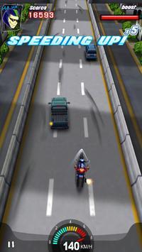 Racing Moto 3D poster