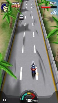 Racing Moto 3D apk screenshot