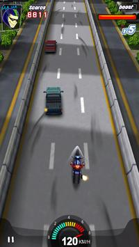Racing Moto 3D screenshot 1