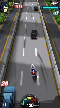 Racing Moto 3D screenshot 2
