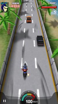 Racing Moto 3D screenshot 3
