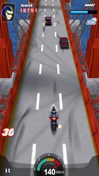 Racing Moto 3D screenshot 4