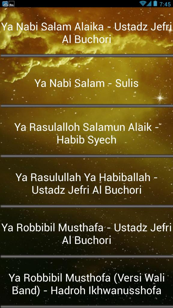 Islamic Sholawat Of Prophet for Android - APK Download