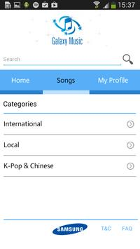 GalaxyMusic screenshot 2