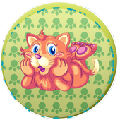 cat paw print detector icon
