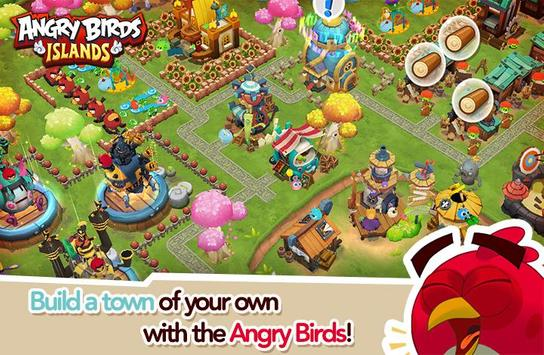 Angry Birds Islands poster
