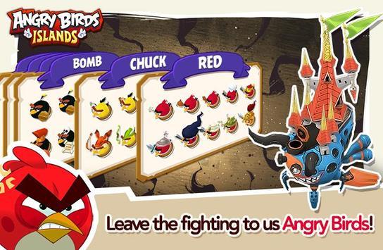 Angry Birds Islands apk screenshot