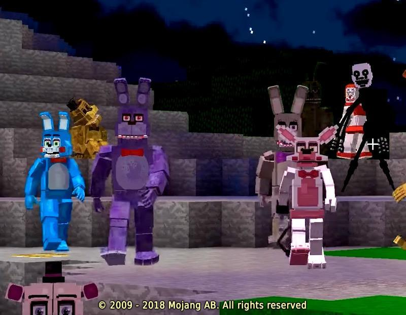 FNAF Addon Minecraft PE for Android - APK Download