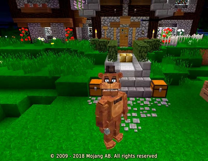 FNAF Addon Minecraft PE for Android APK Download