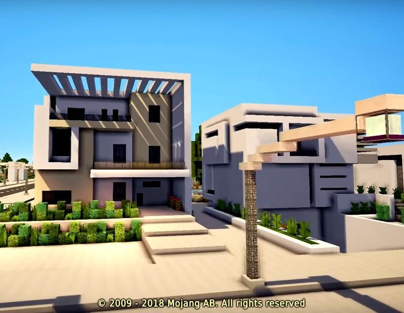 Minecraft Modern House Mod for Android APK Download