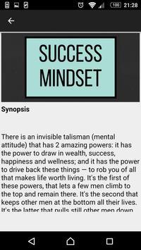 Success Mindset 101 poster