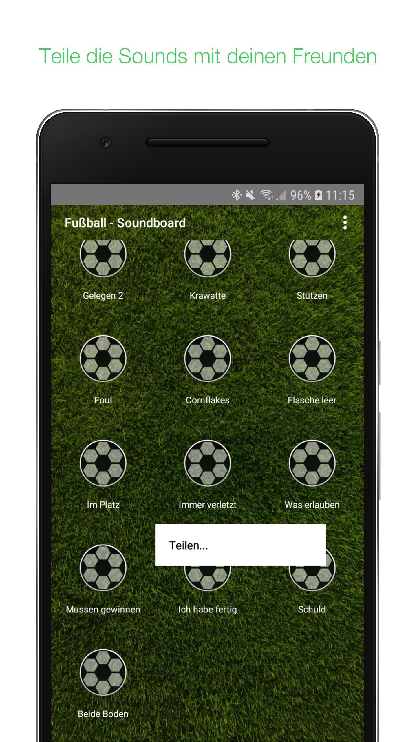 Fussball Spruche Buttons Soundboard Fur Android Apk