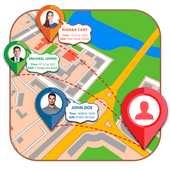 Friends & Family Locator: Phone Tracker & Chat icon