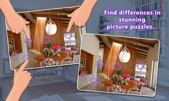 Find The Difference - Home Interior apk screenshot