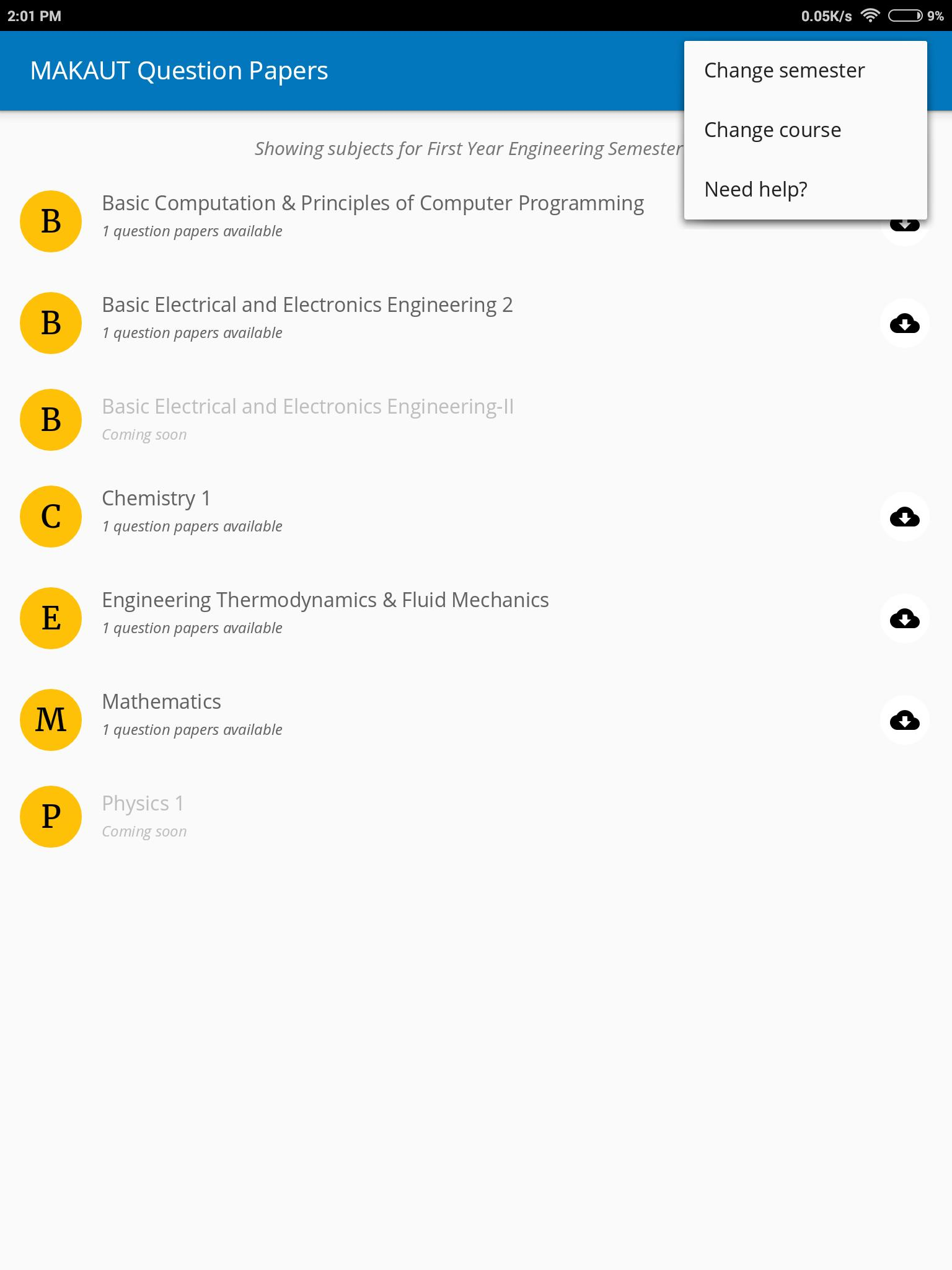 MAKAUT (WBUT) Exam Papers for Android - APK Download
