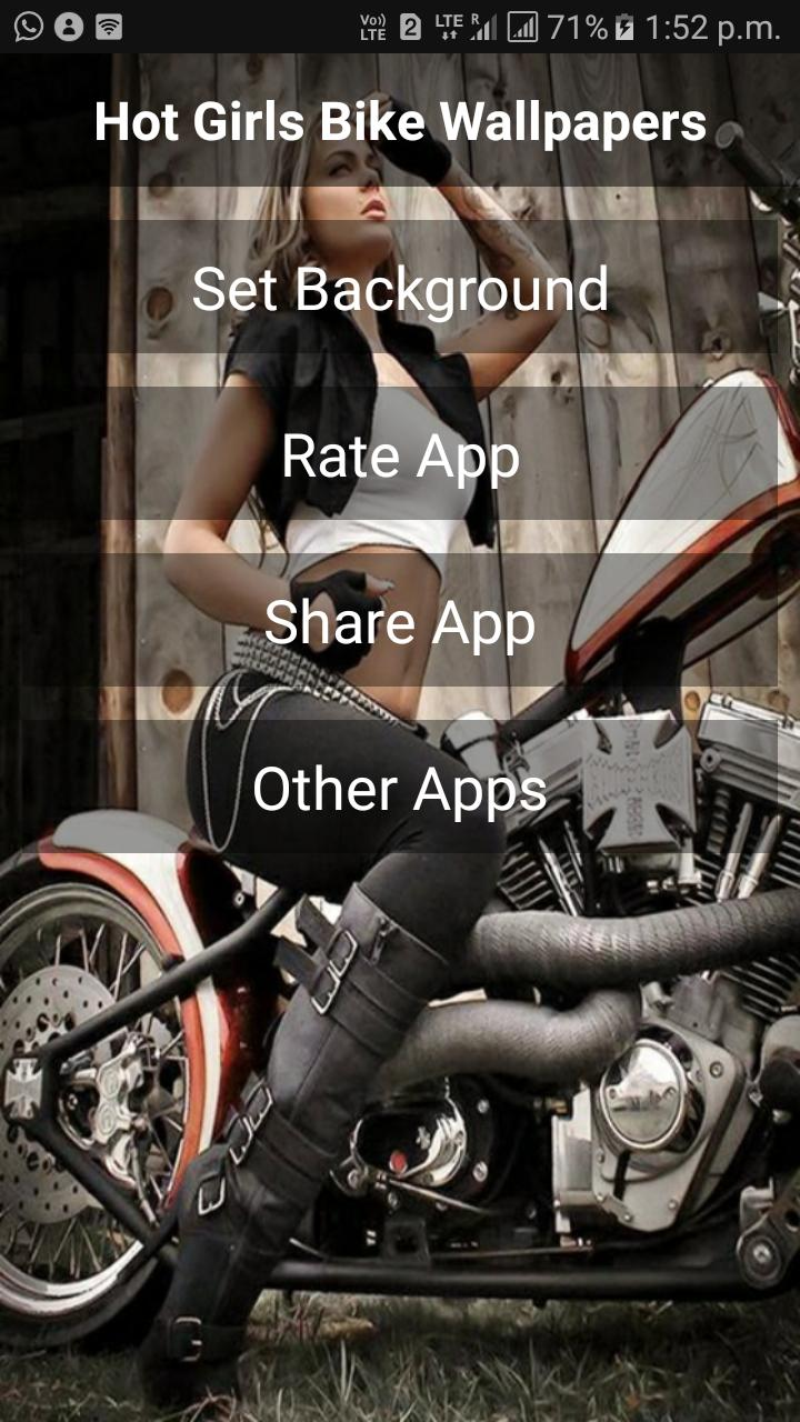 Hot Bike Girls Wallpapers For Android Apk Download