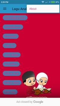 Lagu Anak Muslim Offline poster