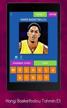 Hangi Basketbolcu Tahmin Et apk screenshot