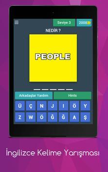 İngilizce Kelime Bilgi Yarışması screenshot 2