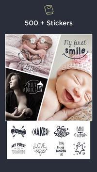 Baby Pics Collage Photo Editor screenshot 2