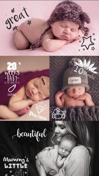Baby Pics Collage Photo Editor screenshot 3