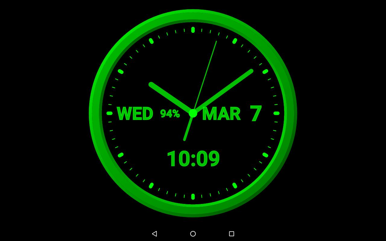 Note 5 Live Wallpapers 1 0 7 Apk Download: Analog Clock-7 Mobile For Android