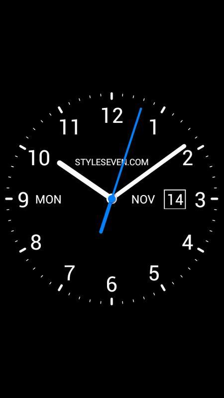 Analog Clock Live Wallpaper-7 APK Download - Free Tools ...