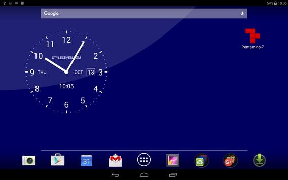 analog clock live wallpaper 7 apk download free tools app for