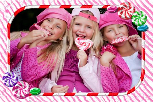 Candy Photo Frames apk screenshot