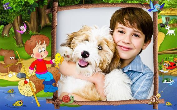 Funny Kids Photo Frames apk screenshot