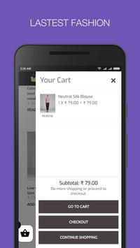 Tripura's First Online Fashion Portal Stylefeb App screenshot 1