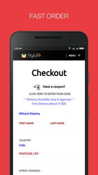 Tripura's First Online Fashion Portal Stylefeb App screenshot 2