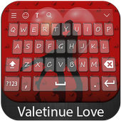 Valentine Love Keyboard Theme icon