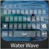 WaterWave Keyboard Theme icon