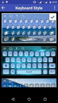 WaterWave Keyboard Theme apk screenshot