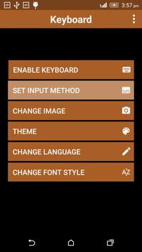 Book Keyboard Theme apk screenshot