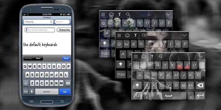 Horror Keyboard Theme poster