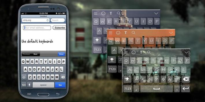 Industrial Keyboard Theme poster
