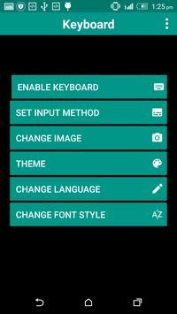 Industrial Keyboard Theme screenshot 1