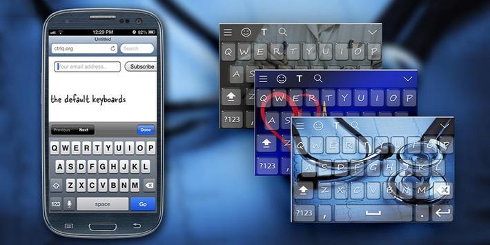 Medical Keyboard Theme poster